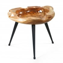 Table basse ronde GM en teck SABANG