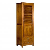 Armoire Marco Polo Arya simple 1 porte 2 tiroirs