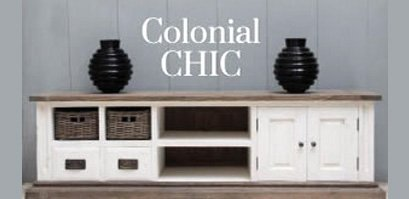 meuble style colonial blanc table de lit a roulettes. Black Bedroom Furniture Sets. Home Design Ideas