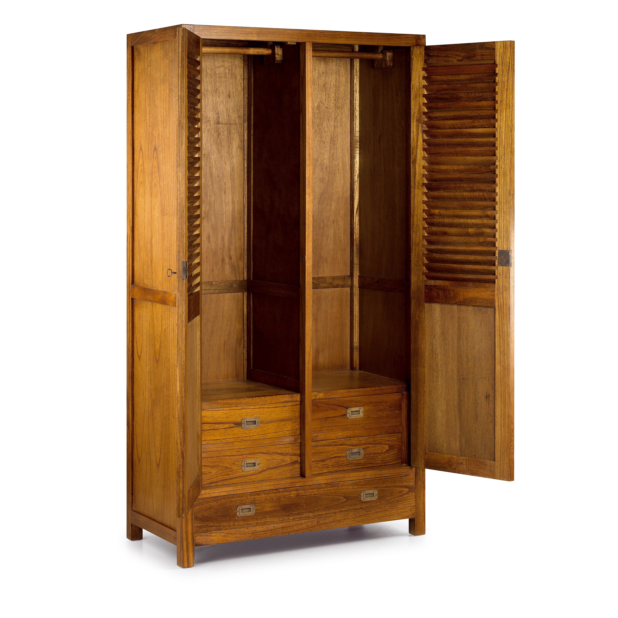 armoire arya double 4 1 tiroirs 2 portes. Black Bedroom Furniture Sets. Home Design Ideas