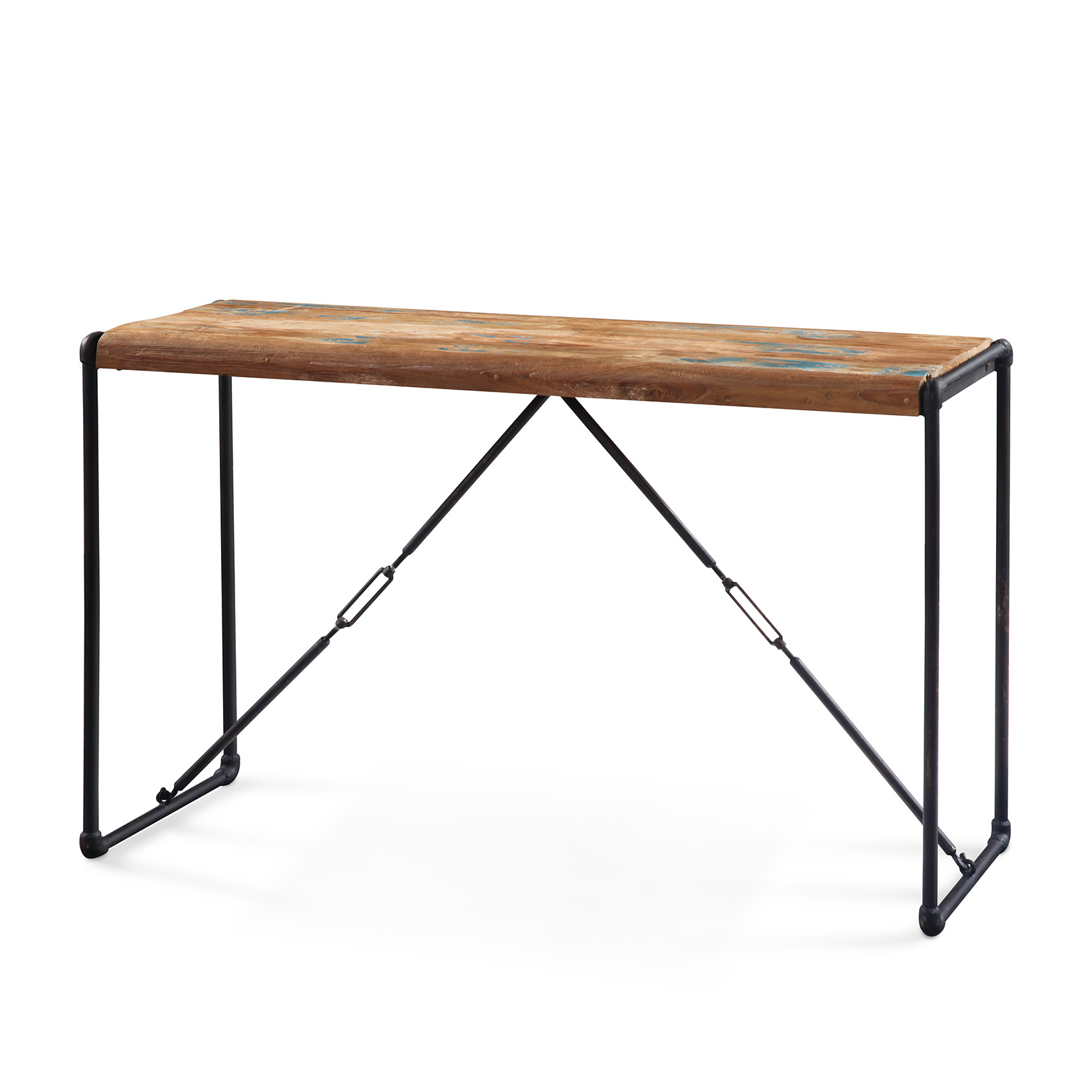 console teck recycl lombock console style industriel. Black Bedroom Furniture Sets. Home Design Ideas