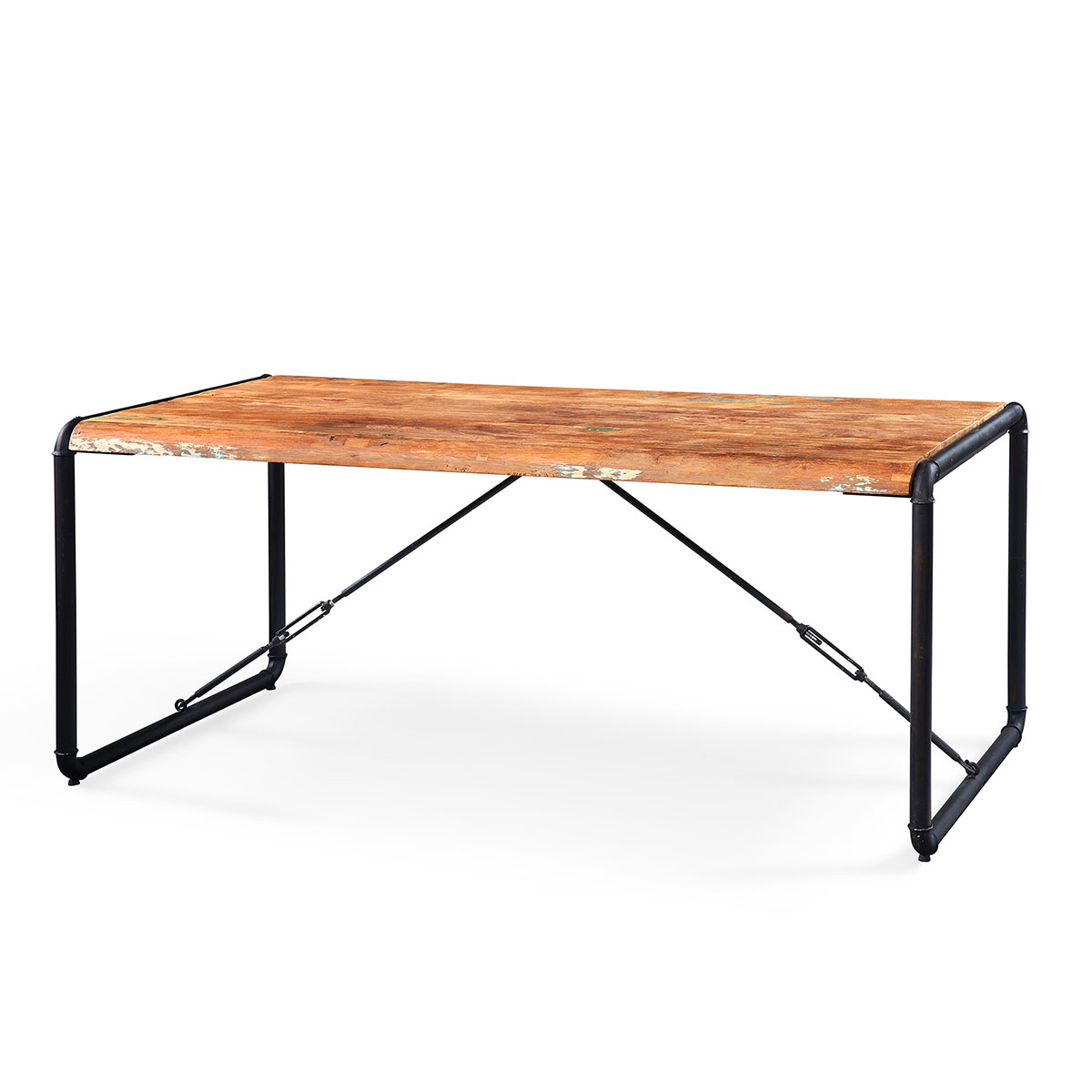 table manger en teck massif recycl lombock. Black Bedroom Furniture Sets. Home Design Ideas