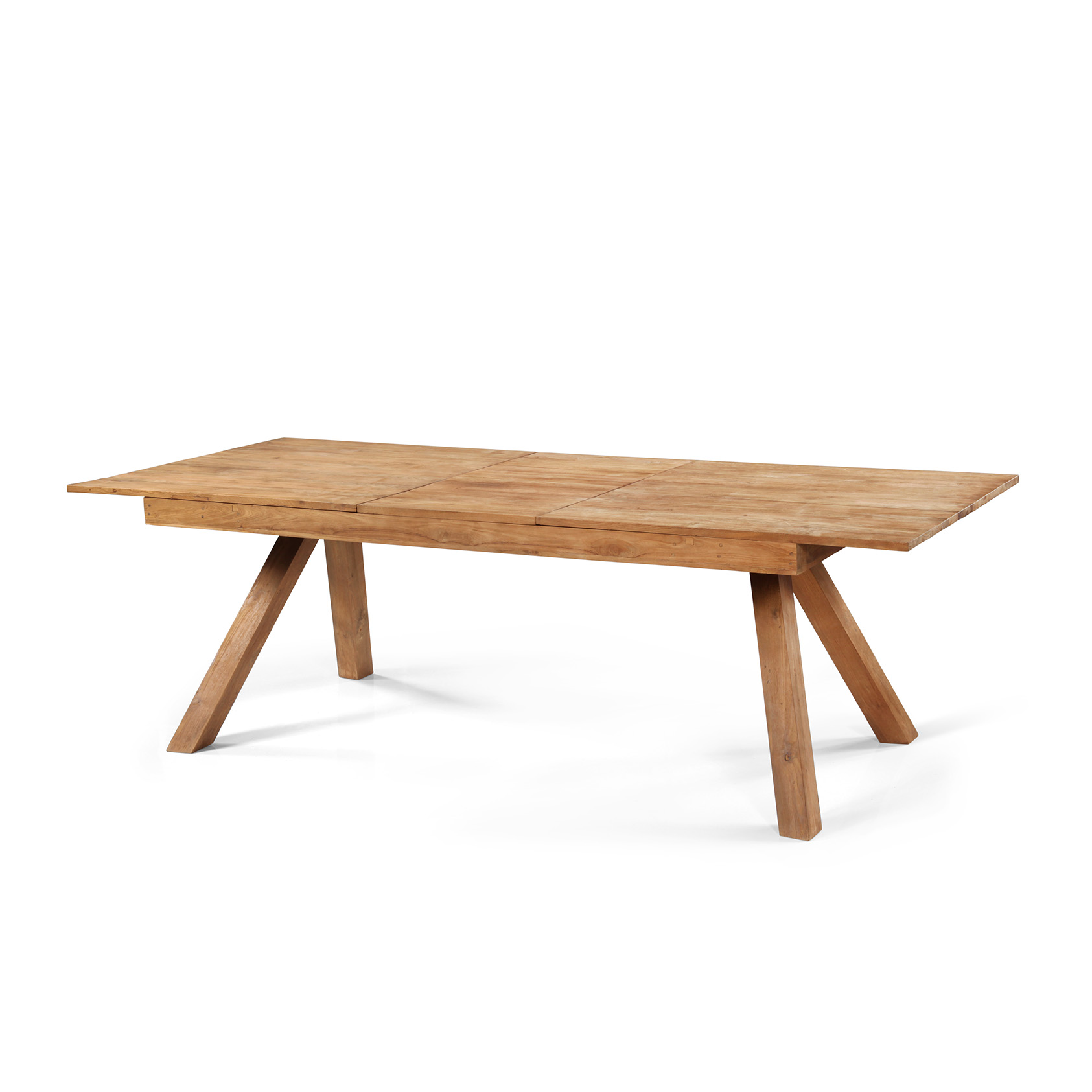 Table a manger en teck maison design for Salle a manger table en teck